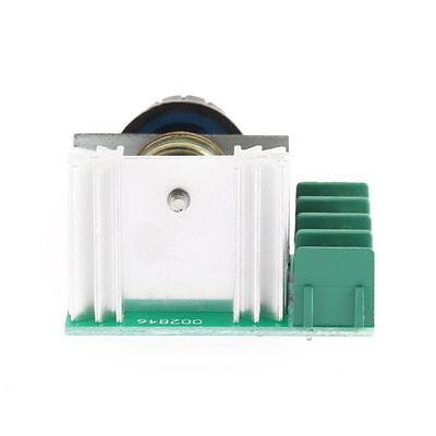 2000w Ac 50-220V 25A Regulador de Voltaje controlador de velocidad de mofws  KY 3
