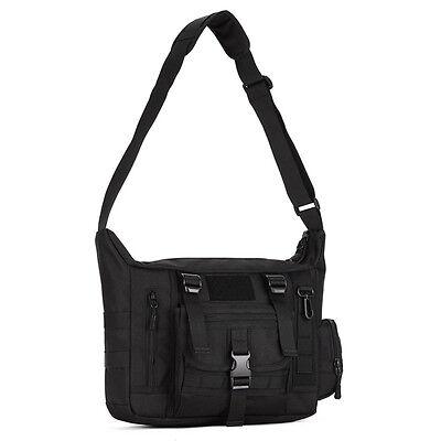 Men Nylon Messenger Shoulder Bag Military Tactical Camping Briefcase Laptop Pack