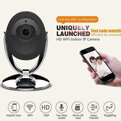 Home Video Baby Monitor IP Camera HD 720P Wireless IR Night Vision Wi-Fi Cam FH