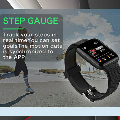 Smart Watch Band Sport Activity Fitness Tracker For Kids Fit bit Android iOS UK 10