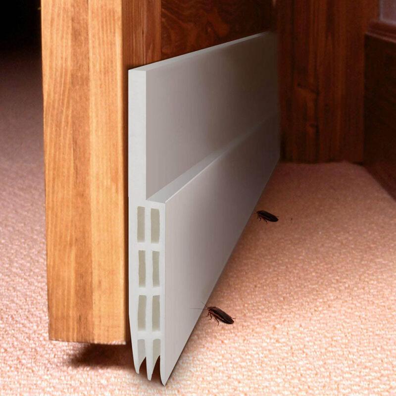 Self-adhesive Under Door Draft Stopper Silicone Door Bottom Seal Strip Door Gap 3