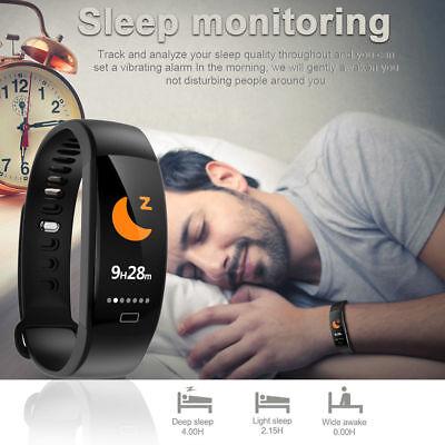Fitness Armband mit Pulsmesser Wasserdicht IP68 Fitness Tracker Smartwatch Uhr 8