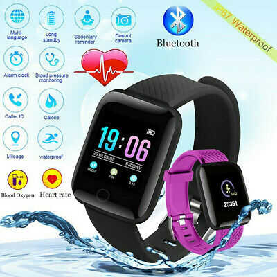Smart Watch Band Sport Activity Fitness Tracker For Kids Fit bit Android iOS UK 6