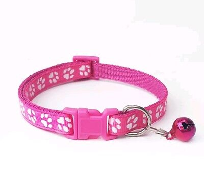 Dog Cat Collar Pet Puppy Kitten Adjustable Harness Neck Strap with Bell 6
