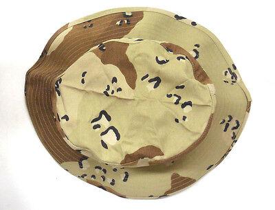 ... New Usgi Bernard Cap Co. 6 Color Choc. Chip Desert Storm Boonie Hat 7 7cc5f642d48