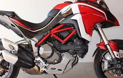 Stickers Kit For Ducati Multistrada 950 1200 Dvt White
