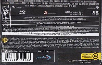 Batman V Superman: Dawn Of Justice BLU-RAY FUTUREPAK (not steelbook) 2D + 3D NEW 3