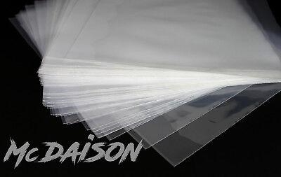 "McDAISON - 100 BUSTE esterne per LP dischi 33 giri vinile 12"" Polietilene 80my 4"