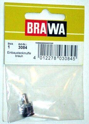 Brawa 3080–Accessorio Elettrico Boccola Da Pannello-Colori Assortiti 4