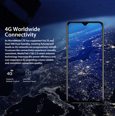 Blackview A60 Pro 3GB+16GB Smartphone 4G Mobile Phone Android 9.0 Dual SIM 13MP 12