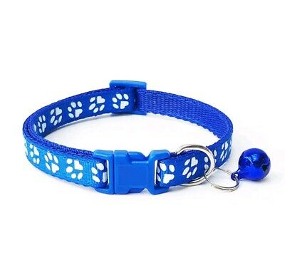 Dog Cat Collar Pet Puppy Kitten Adjustable Harness Neck Strap with Bell 2