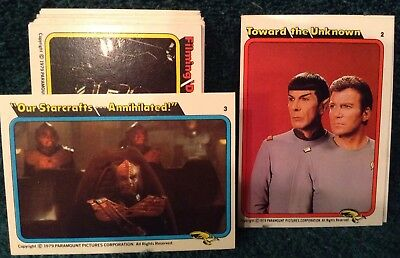 Star Trek Topps 1979 Trading Cards....  Rainbo Bread Trading Cards Full Set!!!.. 4