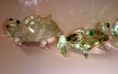 Set of 5 Crystal Glass Animals 6