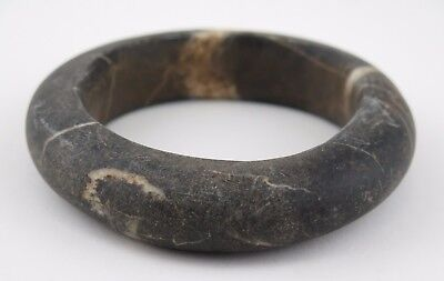 African tribal stone Sahel Burkino Faso Mali stone currency bangle. (2)