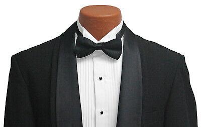 Boys Black Oscar de la Renta Contour Tuxedo Jacket with Matching Pants