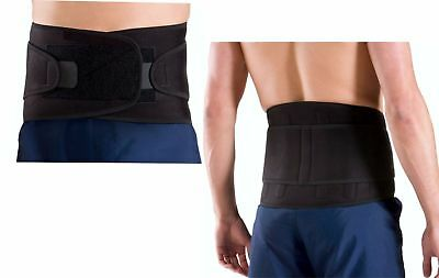 Evo Lumbar Back support Belt Neoprene Yoga Weightlifting Gym Manual work Use