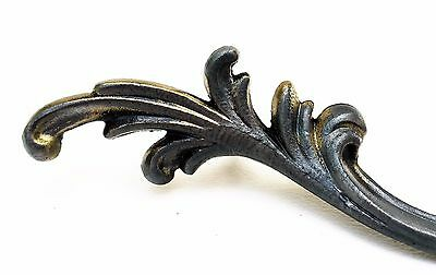 "CUSTOM French Provincial Antique Vintage Drawer Pull 4 1/4"" on center 9"