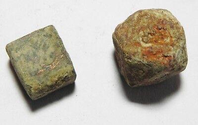 Zurqieh - As3621-  Islamic Lot Of 2 Bronze Weights. Early-Mamluk 3