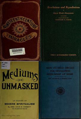 300 Rare Books On Spirits, Medium, Séances, Communication With The Dead On Dvd 2