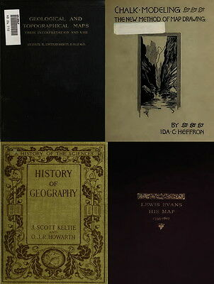 140 Rare Old Books On Cartography, Maps, Map Making, Ancient Maps & Atlas On Dvd 6