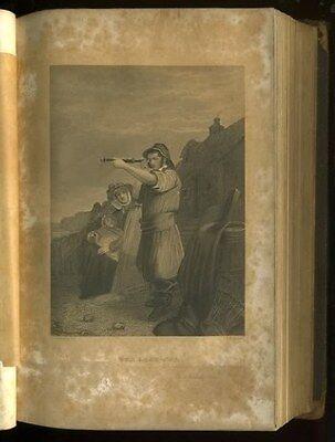 Antique Book 1851 KEEPSAKE of FRIENDSHIP 4 Oliver Pelton Engravings CHRISTMAS hb 4