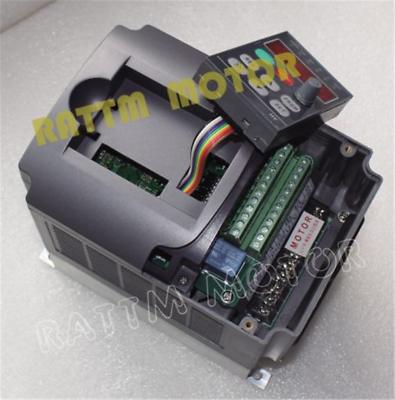 〖FR〗1.5KW Air cooled Spindle Motor ER16 220V& 1.5KW Inverter VFD& 80mm Clamp CNC 10