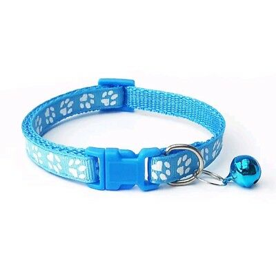 Dog Cat Collar Pet Puppy Kitten Adjustable Harness Neck Strap with Bell 10