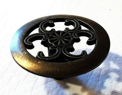 Gorgeous Antique Hardware Mid Century Modern Drawer Knobs Vintage Dresser Knobs 3