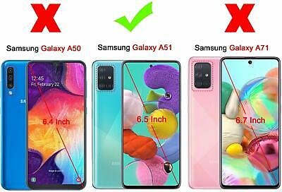 Cover Custodia + Pellicola In Vetro Temperato Per Samsung Galaxy A51 A 51 3