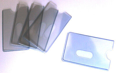 EC-Kartenhüllen 5 Stk Ausweishüllen Schutzhüllen EXTRA STABIL Kartenhüllen 185