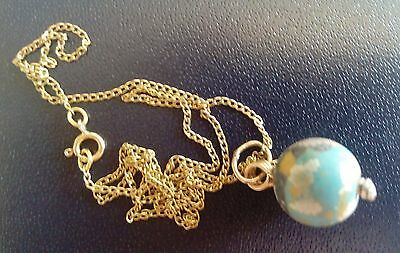Vintage 14K Gold Necklace With 2,000 Year Old Ancient Eastern Mediterranean Bead 7