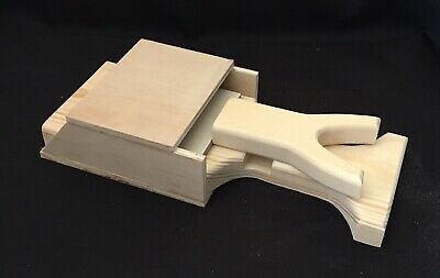Hot Glue Gun Holder Regular & Mini Original Wood Stand Organizer Floral Crafts 6