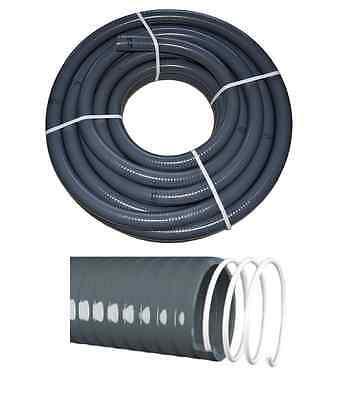 PVC Klebeschlauch Flexschlauch Flex Rohr AD 50 mm für Schwimmbad Pool Teich 25m