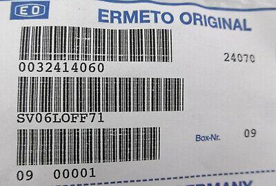 Parker Ermeto gerade Schottverschraubung SV 06-PL OEL+Fettfr.  | 1.4571 5