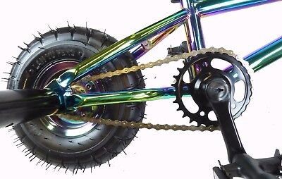 aba58a1acac ... New Limited Edition 1080 Kids Stunt Freestyle Jet Fuel Neo Chrome Mini BMX  Bike 6