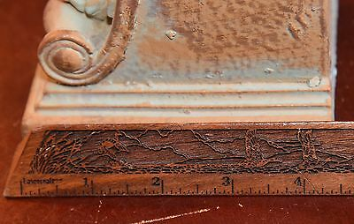 Years Old Vintage Corbel With Sweeping Scroll Sidecut From India 50-100