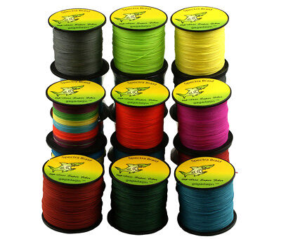 9 Color 300M Multifilament Spectra Braided 4 Strands Sea Testing Fishing Line 6
