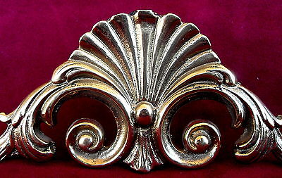 ANTIQUE DECORATION  SOLID BRONZE SIZE 19.5x7x0.5 cms -WEIGHT 212.3 gms 3