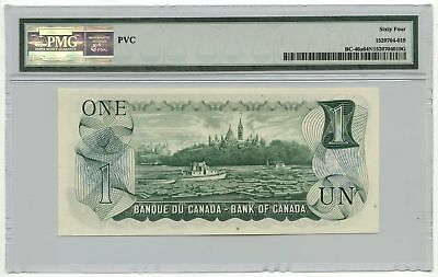 1973 Bank of Canada $1 Note BC-46a PMG Choice UNC 64 NET PVC 2