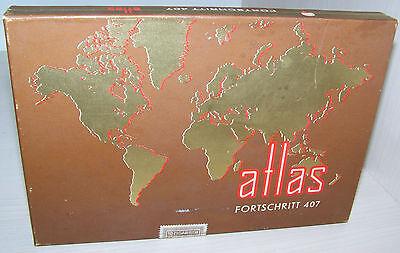 atlas FORTSCHRITT 407 antik Zigarren Bauchbinde Banderole versiegelt 4 DM 10 St.