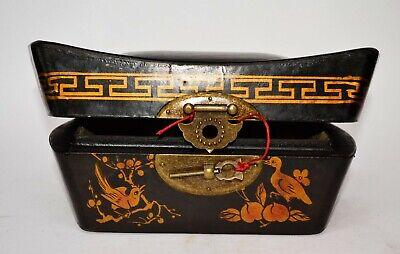 Truhe Kisten Box Schmuckbox Schatulle Holz chinesische Möbel Schatzkiste Vintage 2