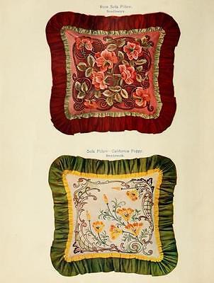 213 Rare Needlecraft Books On Dvd - Home Embroidery Needlework Patterns Textiles 4