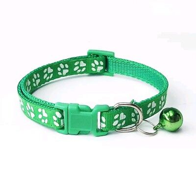 Dog Cat Collar Pet Puppy Kitten Adjustable Harness Neck Strap with Bell 3