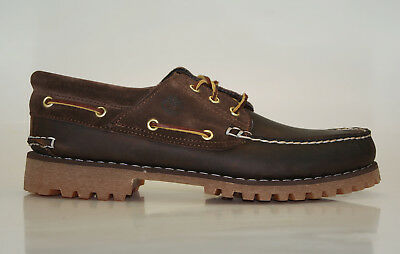 TIMBERLAND CLASSIC 3 EYE Lug Boat Shoes Herren Schnürschuhe