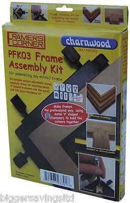 Charnwood Pfk03 Picture Framing Corner Kit Framers Joining Assembly Tool 3