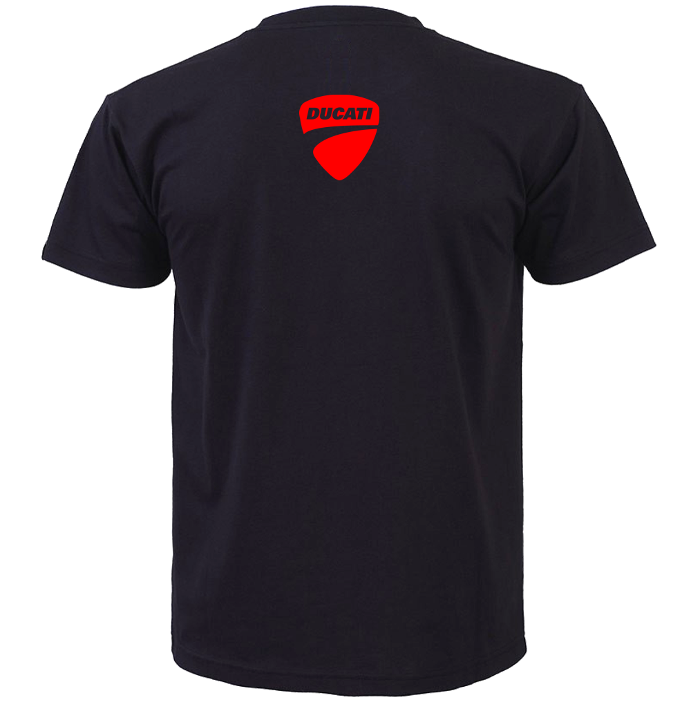 Ducati 1198 S Sp Corse Motorcycle Bike Style Inspired Tee T Shirt 3