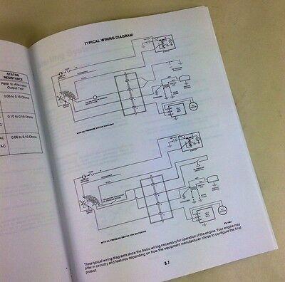 miller bobcat 225 225g welder generator onan engine service manual rh picclick com Onan Generator Schematic Onan Troubleshooting