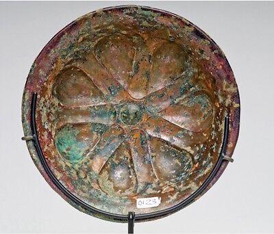 Ca.  6th - 4th  Achaemenid Bronze Mesomphalos 4