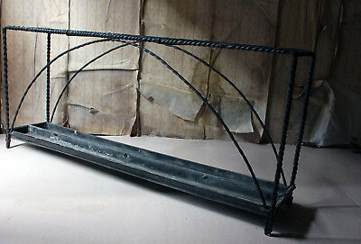 Antique Mid-19thC Very Large Country House Wrought Iron Stick Stand c.1870 8