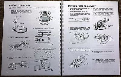 kenwood kd 2077 turntable owners manual 8 65 picclick rh picclick com kenwood owner's manual kf-8011 kenwood owners manual dpx593bt
